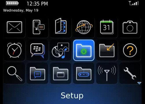How to set up email addres on your BlackBerry (video)