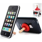 iPlunge iPhone, a funny and usefull stand accessory