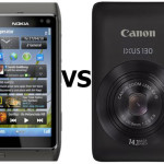 Check out the camera comparison between Nokia N8 and Canon IXUS 130