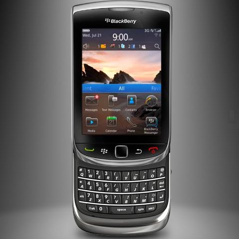 BlackBerry Torch 9810 available from 9th of November