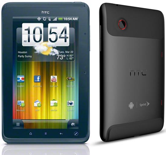Honeycomb upgrade for HTC EVO View 4G out now