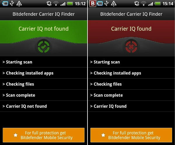 Find out if you're spying on smartphone with Carrier IQ Finder