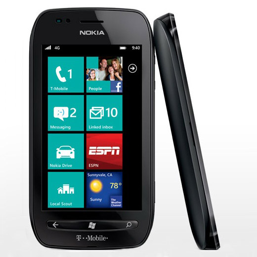 Release date for Nokia Lumia 710 on T-Mobile US available
