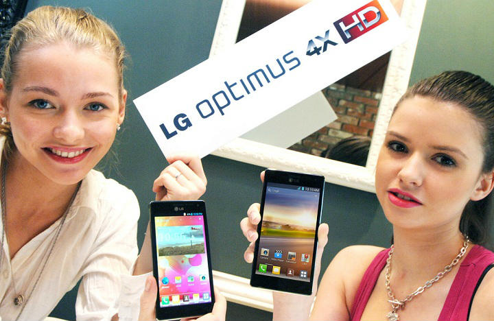LG presents: Optimus 4X HD and Optimus 3D Max