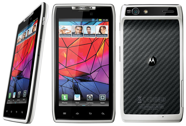 Motorola RAZR White available in UK – release date available