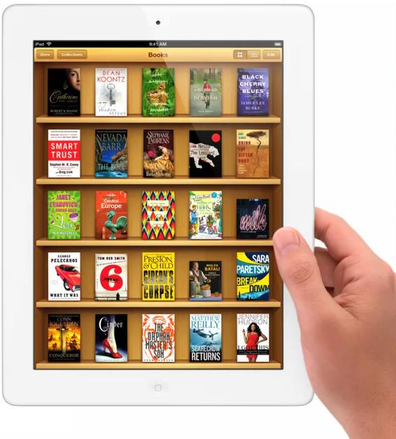 Apple and five American publishers, accused for rising prices of electronic books