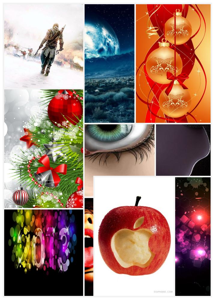 iphone-4s-wallpapers-Christmas