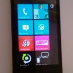 LG E900 running Windows Phone 7 (video)