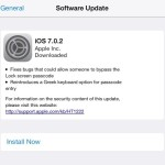 iOS 7.0.2 now available