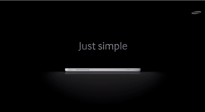 Official Samsung teaser show us a new smartphone – simple, fit, elegant and fast