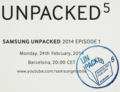 The 5th generation of Galaxy S will be launched this month on MWC 2014
