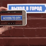 Receive an instant translation taken photos with your phone