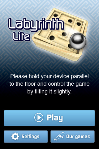 Labyrinth Lite free game for iPhone 1