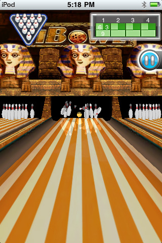 iBowl free game for iPhone iPad iPod 3