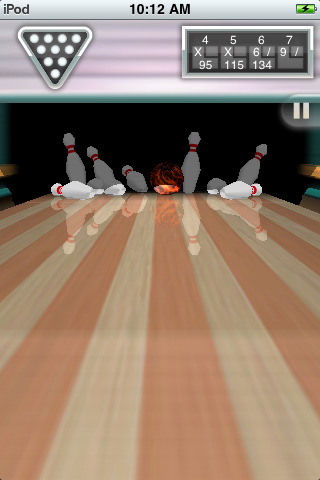 iBowl free game for iPhone iPad iPod 5