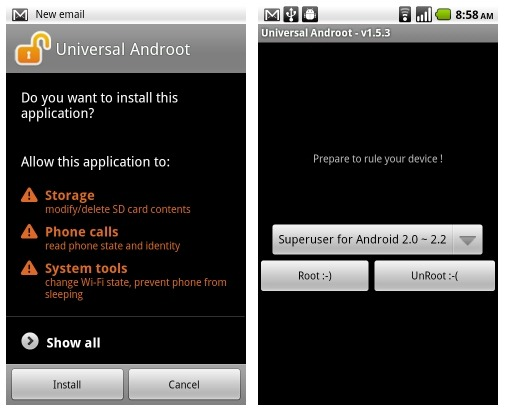 Androot-app-for-Android-devices