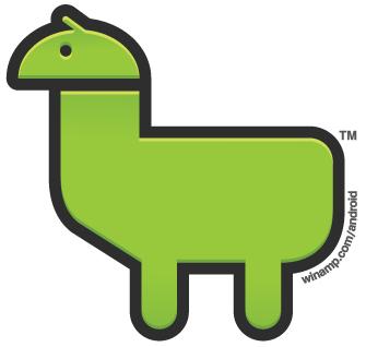 Winamp Android Llama Bot