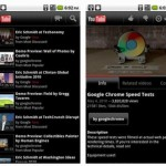 Get YouTube v2.0.26 application for Android 2.2 (free download)