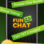 Send free and unlimited personalized pictures with FunChat free app for iPhone