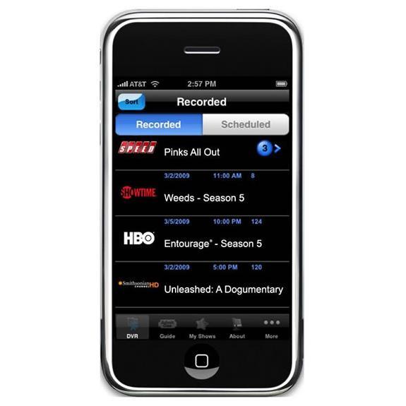 AT&T U-verse iPhone