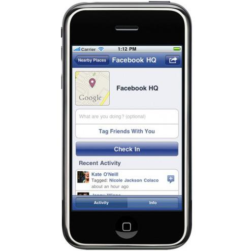 Facebook 3.2 free app for iPhone