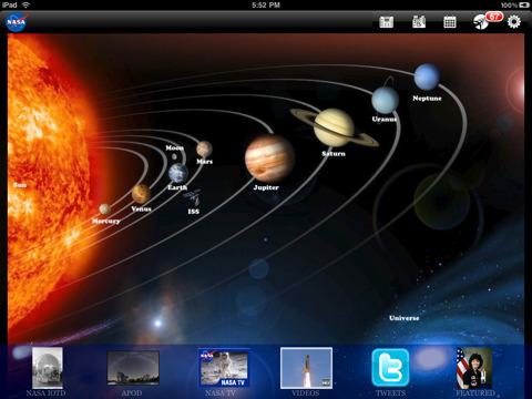 NASA App HD free for iPad