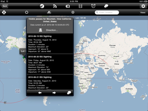 NASA App HD free for iPad2