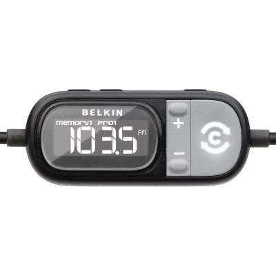 Belkin's TuneCast Auto LIVE FM Transmitter
