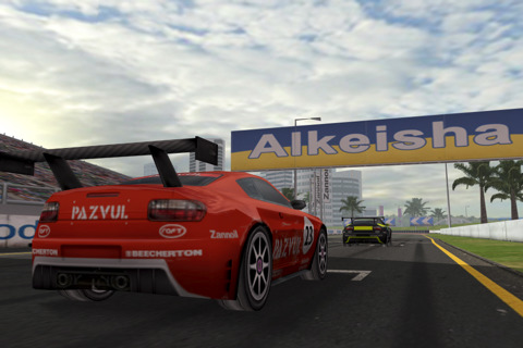 Real Racing iPhone 4