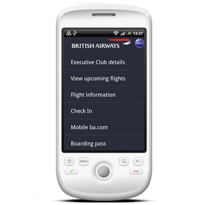 Android British Airways