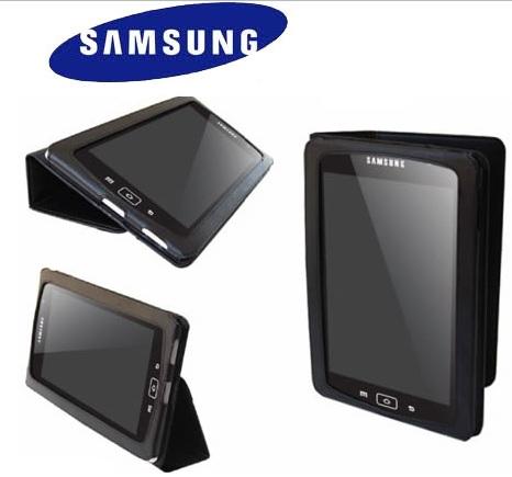 Leather Slip Case Galaxy Tab