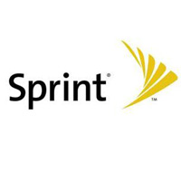 sprint logo white