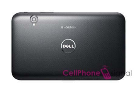 Dell Streak 7 back