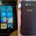 Leak: HTC Spark with Windows Phone 7 spotted