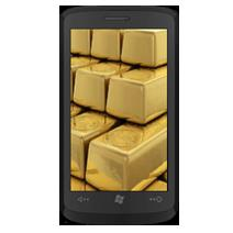 HTC Gold Windows Phone 7