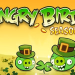 New Angry Birds Seasons: St. Patrick's Day