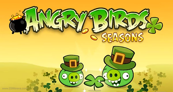 Angry Birds Seasons Green