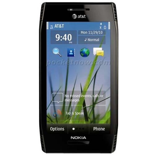 Nokia X7 front