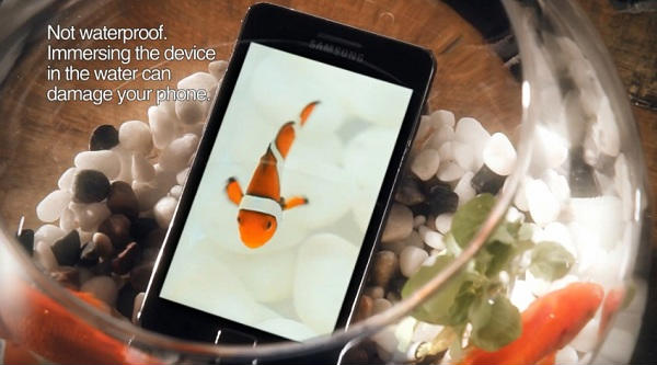 Samsung Galaxy S2 commercial