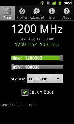 Nexus S overclock