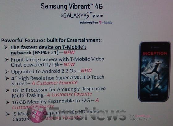 Samsung Vibrant 4G
