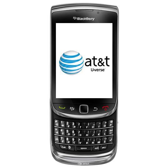 BlackBerry Torch U-verse