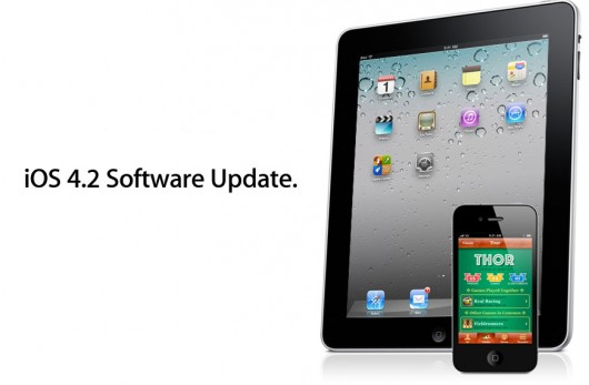 iOS 4.2 update