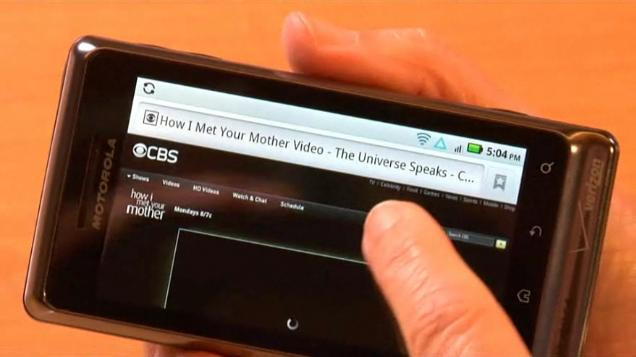 Motorola Droid 2 Flash Player 10.1