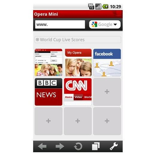 Opera Mini 5.1 Android