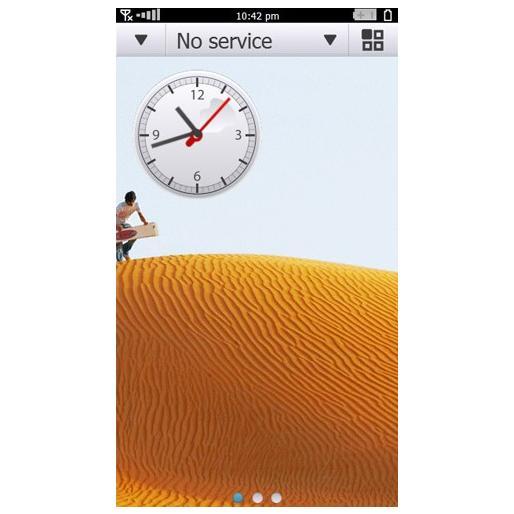 Symbian^4 Images Homescreen