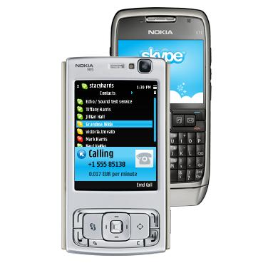 Symbian Skype 1.1 application