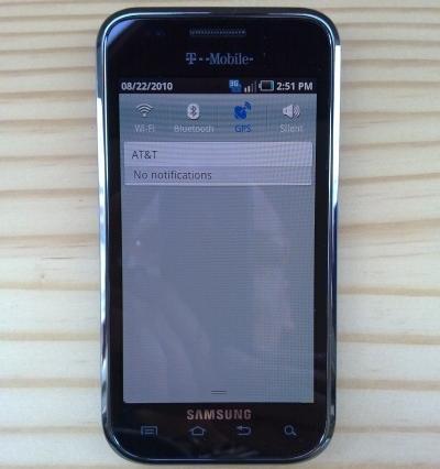 Unlock Samsung Galaxy S, Vibrant