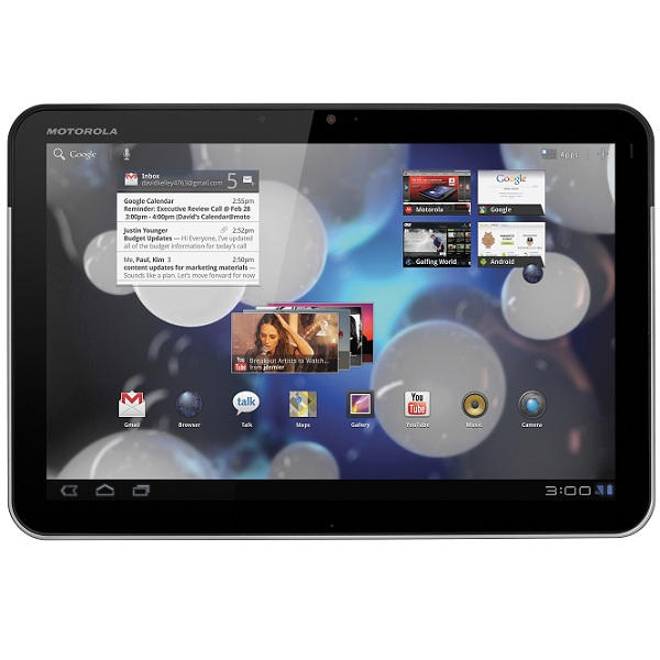 Motorola Xoom will receive Flash 10.2 OTA Update: Android 3.0.1