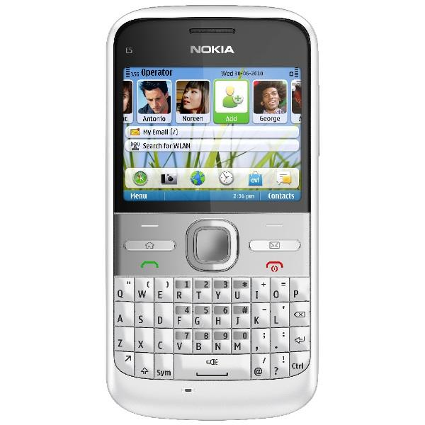 Nokia E5 White UK